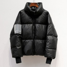 Damska jasna wodoodporna kurtka Parka zimowa 2020 wiatroszczelne ciepłe kurtki damskie wyściełane bawełniane puchowe parki moda