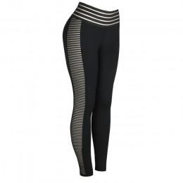 CHRLEISURE damskie legginsy push up odzież sportowa wysokiej talii legginsy treningowe Femme czarne legginsy elastyczne damskie