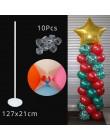 19tube dekoracyjne ślubne balony stojak uchwyt balon kij balon Baby Shower dekoracja urodzinowa dzieci balon powietrza Globos