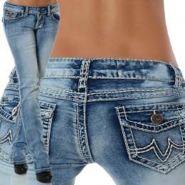 Nowy mody 2019 Plus Size dżinsy kobieta szczupły kieszenie jeansowe damskie na co dzień ołówek wysokiej talii niebieskie dżinsy