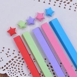 5/7/10/27 kolory mieszane kolor zestaw prace ręczne z papieru składane gwiazda na szczęście Origami papier ręcznie robiony domu