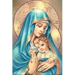 Diamentowe malowanie religia ikona pełny kwadratowy obraz z haftem diamentowym obraz dżetów diamentowa mozaika ściegu Home Decor